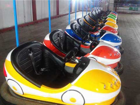 Ceiling Grid Electric Antique Bumper Cars for Sale