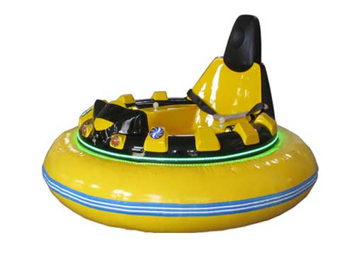Yellow Inflatable Adults Bumper Cars