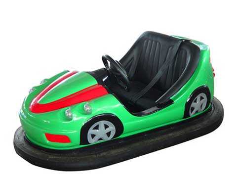 Electric Bumper Cars - Green Bumper Car
