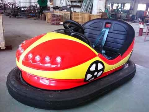 Bumper Cars Powered by Battery