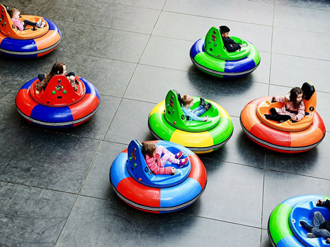 Funfair Inflatable Bumper Cars