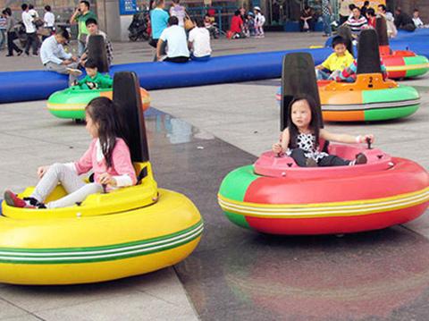 Kiddie Inflatable Bumper Cars