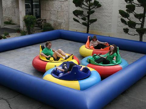 Funfair Inflatable Bumper Cars