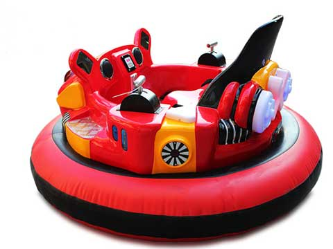 Beston Red Inflatable Bumper Cars