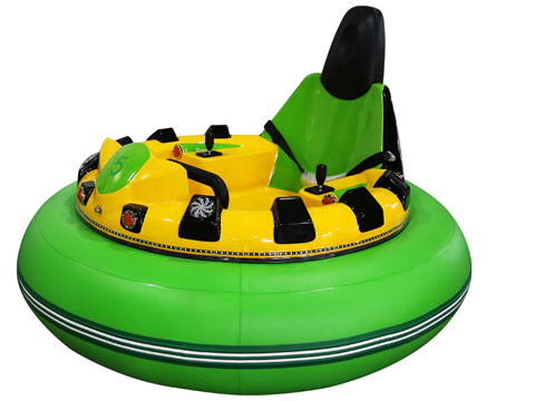 Green Inflatable Bumper Cars