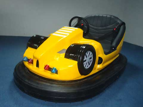 Grand New Bumper Cars - Yellow