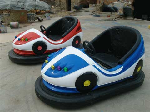 New Bumper Cars In Factory