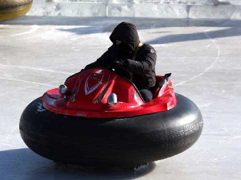 Ice Bumper Cars for Amusement Park in Low Price