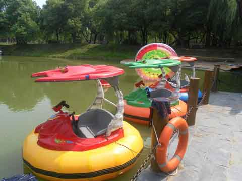 Rubber Bumper Cars Water Ride for Sale