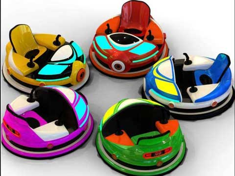 Dodgem Cars Amusement Rides