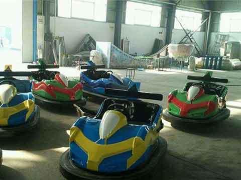 Fairground Bumper Cars Rides