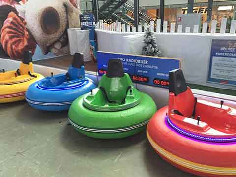 Battery Operated Spin Zone Bumper Cars
