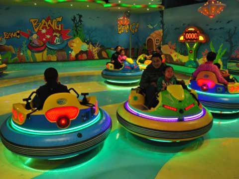 Kiddie Spin Zone Bumper Cars