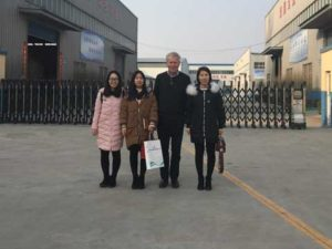 British Clients Visiting Our Factory