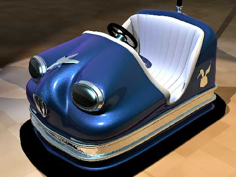 Gas Powered Bumper Cars in Beston