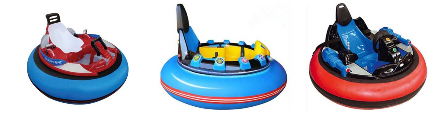 New Spin Zone Bumper Cars Rides
