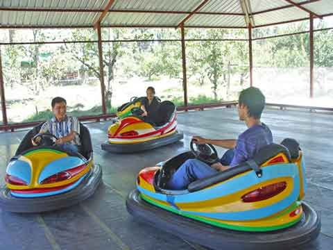 Antique Bumper Cars in Beston