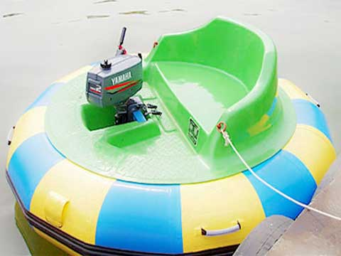 Gas Powered Bumper Boats