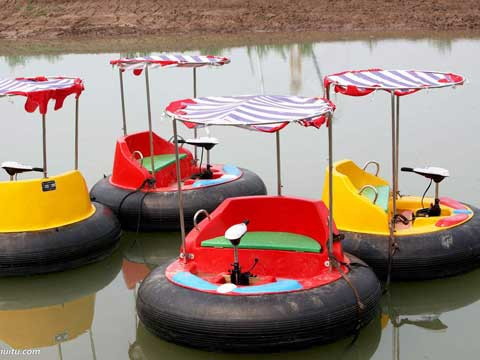 Gas Powered Water Bumper Cars for Sale