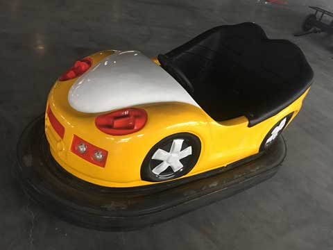 Yellow Indoor Bumper Cars for Sale