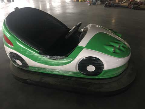 Green Indoor Bumper Cars for Sale