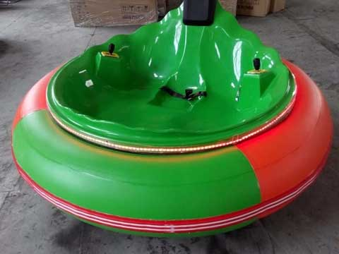 Green UFO Bumper Car Rides for Sale