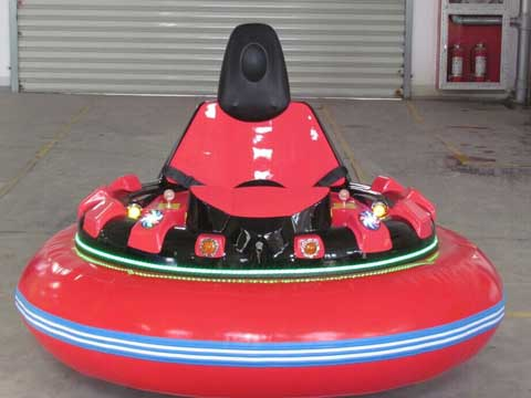 Red Spin Zone Bumper Cars for Sale