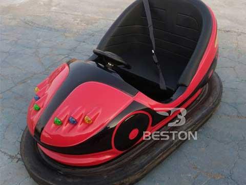 Working Principle of Red Bumper Car