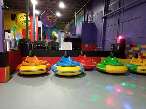 Inflatable Bumper Cars for Kenya