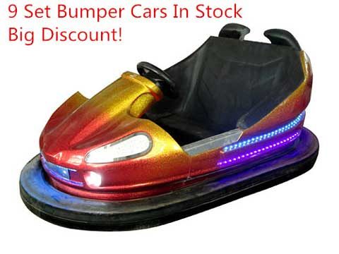 Ground Net Bumper Cars In Stock