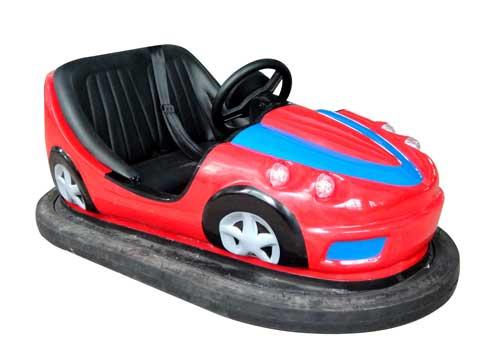 Red Ground-net Bumper Cars