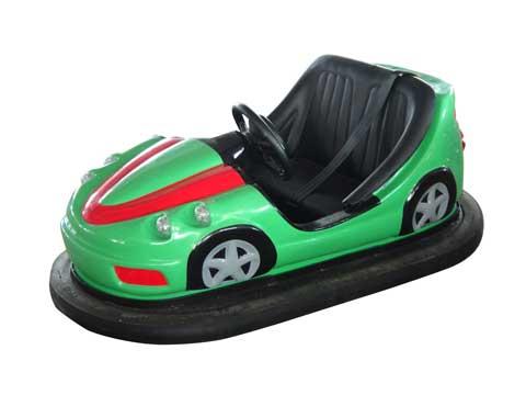 Green Ground-net Bumper Cars