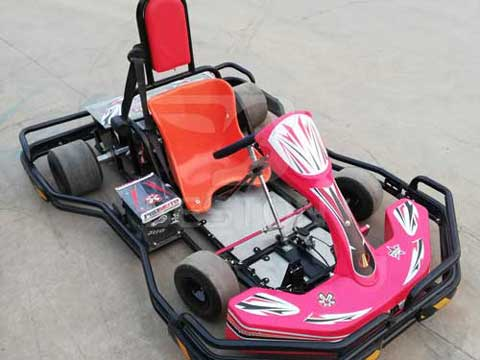 One Seat Electric Go Karts