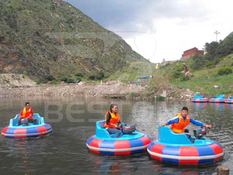 New Bumper Boats from Beston