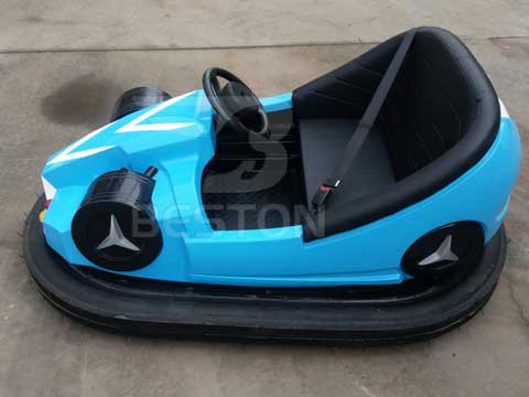 Blue Kiddie Bumper Cars
