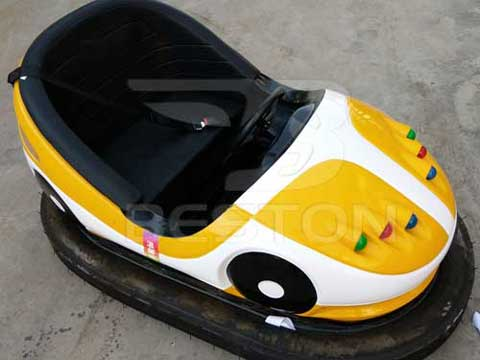 Yellow Battery Bumper Cars