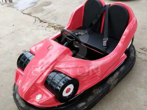 Red Battery Bumper Cars