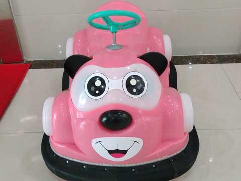 Pink Kuku Bear Bumper Cars