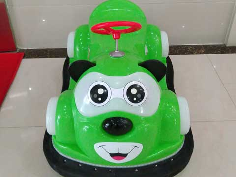Green Kuku Bear Bumper Cars