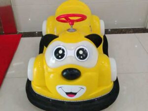 Yellow Kuku Bear Bumper Cars