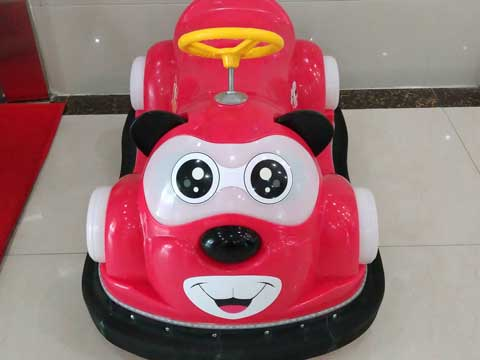 Red Kuku Bear Bumper Car