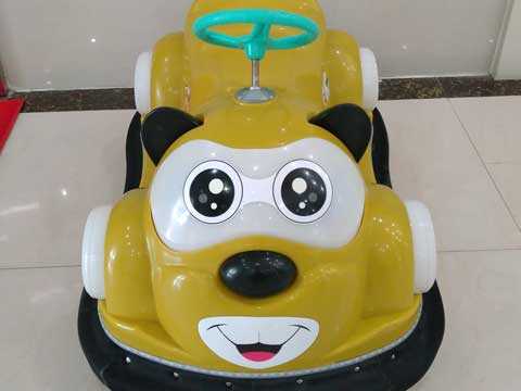 Gold Kuku Bear Bumper Cars