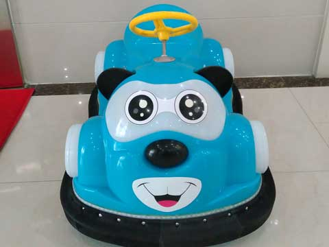 Blue Kuku Bear Bumper Car