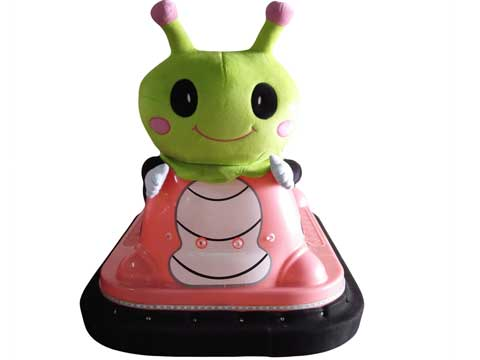 Cute Caterpillar Bumper Car Rides for Sale