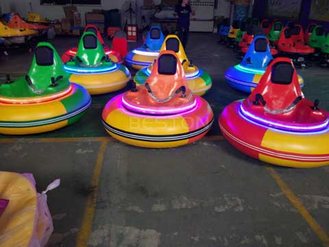 Kids Inflatable Bumper Cars