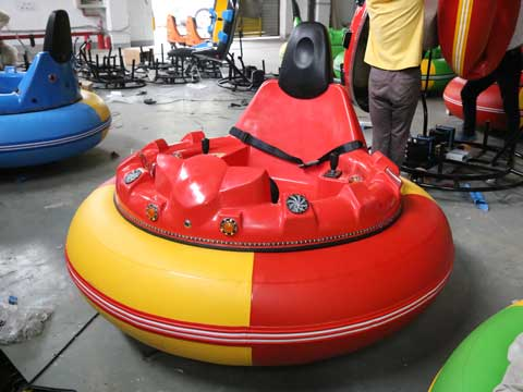 Red Inflatable Bumper Cars for Zambia