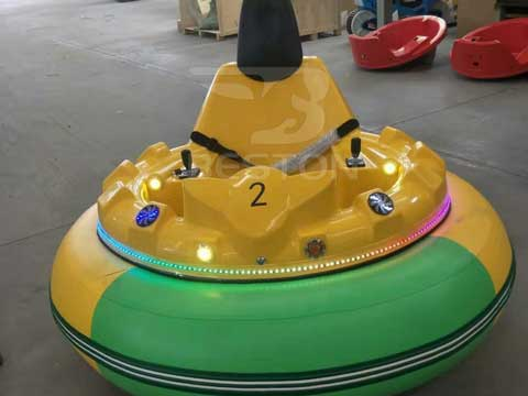 Inflatable Bumper Cars for Iraq